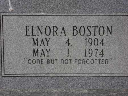 BOSTON, ELNORA - Monroe County, Arkansas | ELNORA BOSTON - Arkansas Gravestone Photos