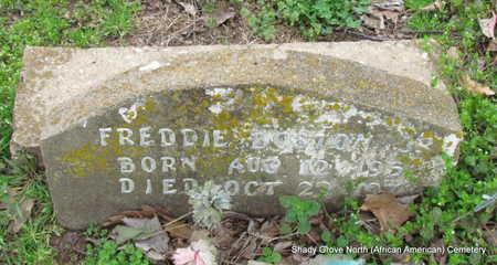 BOSTON, JR, FREDDIE - Monroe County, Arkansas   FREDDIE BOSTON, JR - Arkansas Gravestone Photos