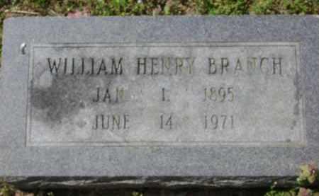 BRANCH, WILLIAM HENRY - Monroe County, Arkansas   WILLIAM HENRY BRANCH - Arkansas Gravestone Photos
