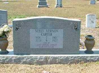 CARTER, NEELY - Monroe County, Arkansas | NEELY CARTER - Arkansas Gravestone Photos