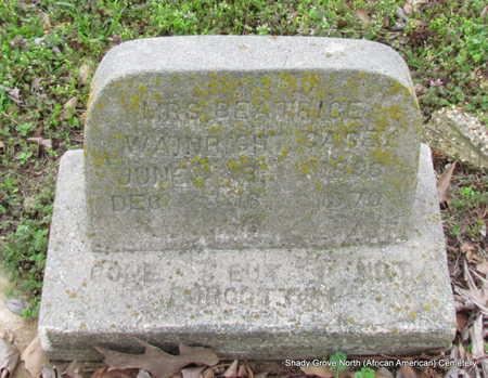 WAINWRIGHT CASEY, BEATRICE - Monroe County, Arkansas | BEATRICE WAINWRIGHT CASEY - Arkansas Gravestone Photos