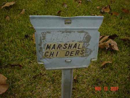CHILDERS, MARSHAL - Monroe County, Arkansas | MARSHAL CHILDERS - Arkansas Gravestone Photos