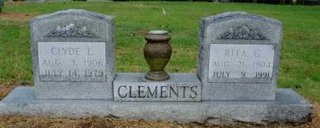CLEMENTS, RITA G - Monroe County, Arkansas | RITA G CLEMENTS - Arkansas Gravestone Photos
