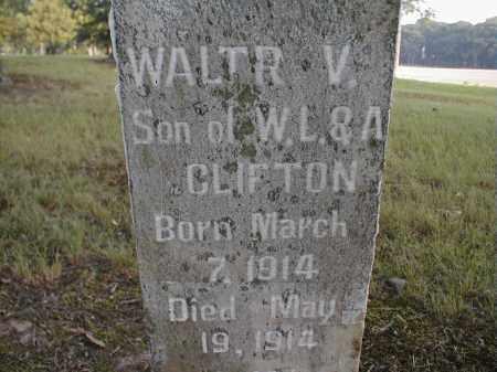 CLIFTON, WALTR V. - Monroe County, Arkansas | WALTR V. CLIFTON - Arkansas Gravestone Photos