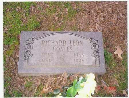 COATES, RICHARD LEON - Monroe County, Arkansas | RICHARD LEON COATES - Arkansas Gravestone Photos