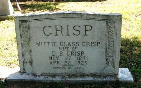 CRISP, MITTIE - Monroe County, Arkansas | MITTIE CRISP - Arkansas Gravestone Photos