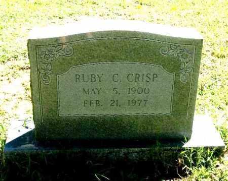 WALTON CRISP, RUBY C. - Monroe County, Arkansas | RUBY C. WALTON CRISP - Arkansas Gravestone Photos