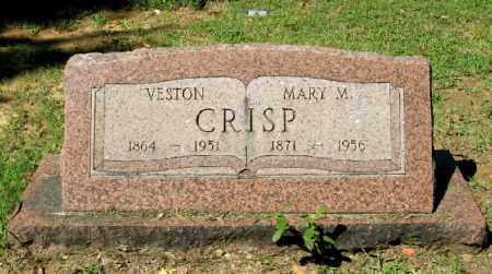 CRISP, VESTON SR - Monroe County, Arkansas | VESTON SR CRISP - Arkansas Gravestone Photos