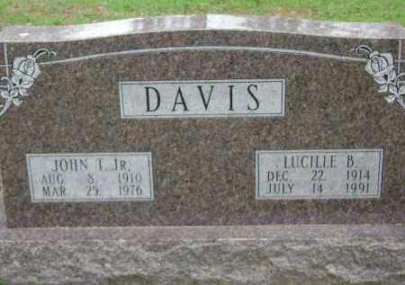 DAVIS, LUCILLE B. - Monroe County, Arkansas | LUCILLE B. DAVIS - Arkansas Gravestone Photos