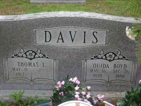 DAVIS, OUIDA - Monroe County, Arkansas | OUIDA DAVIS - Arkansas Gravestone Photos