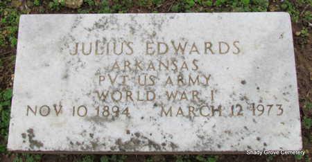 EDWARDS (VETERAN WWI), JULIUS - Monroe County, Arkansas | JULIUS EDWARDS (VETERAN WWI) - Arkansas Gravestone Photos