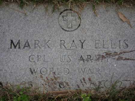 ELLIS (VETERAN WWI), MARK RAY - Monroe County, Arkansas | MARK RAY ELLIS (VETERAN WWI) - Arkansas Gravestone Photos