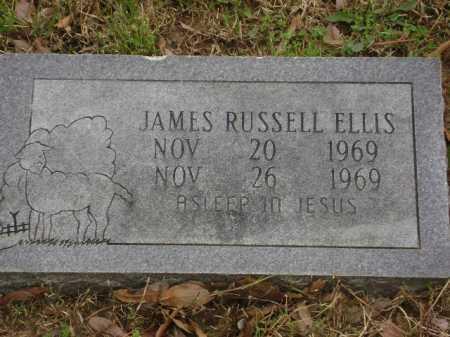 ELLIS, JAMES RUSSELL - Monroe County, Arkansas | JAMES RUSSELL ELLIS - Arkansas Gravestone Photos