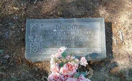 FRYER, MARY - Monroe County, Arkansas   MARY FRYER - Arkansas Gravestone Photos