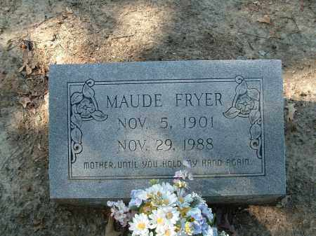 PATTERSON FRYER, MAUDE - Monroe County, Arkansas | MAUDE PATTERSON FRYER - Arkansas Gravestone Photos