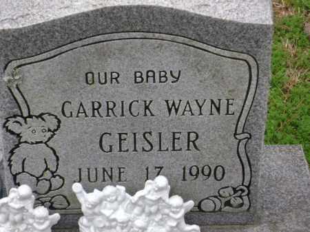 GEISLER, GARRICK WAYNE - Monroe County, Arkansas   GARRICK WAYNE GEISLER - Arkansas Gravestone Photos