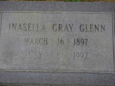 GLENN, INASELLA - Monroe County, Arkansas | INASELLA GLENN - Arkansas Gravestone Photos