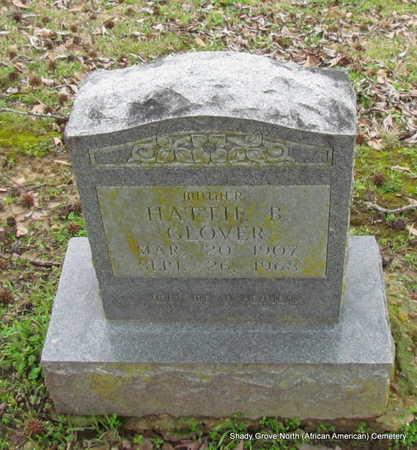 GLOVER, HATTIE B. - Monroe County, Arkansas | HATTIE B. GLOVER - Arkansas Gravestone Photos