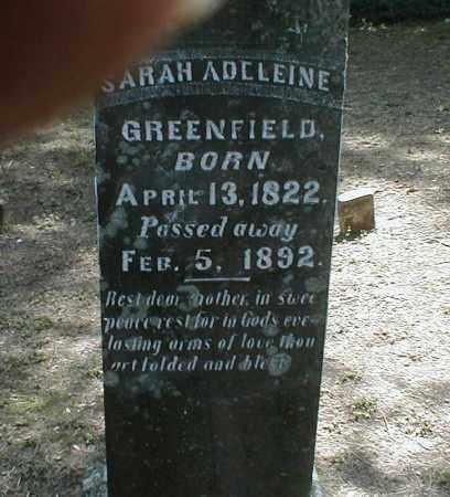 GREENFIELD, SARAH - Monroe County, Arkansas | SARAH GREENFIELD - Arkansas Gravestone Photos