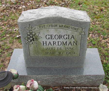 HARDMAN, GEORGIA - Monroe County, Arkansas | GEORGIA HARDMAN - Arkansas Gravestone Photos