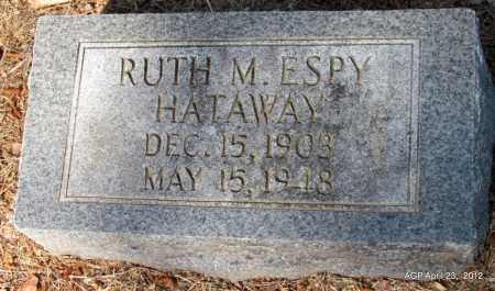 ESPY HATAWAY, RUTH M - Monroe County, Arkansas | RUTH M ESPY HATAWAY - Arkansas Gravestone Photos