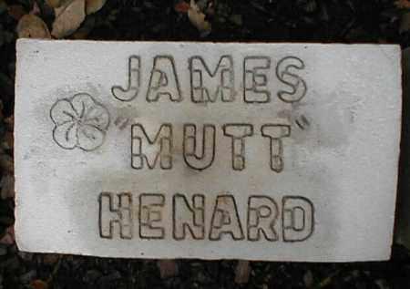HENARD, JAMES MUTT - Monroe County, Arkansas   JAMES MUTT HENARD - Arkansas Gravestone Photos
