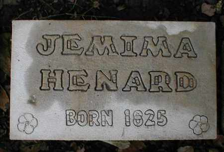 HENARD, JEMIMA - Monroe County, Arkansas | JEMIMA HENARD - Arkansas Gravestone Photos