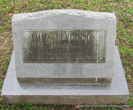 HENDERSON, EMMA - Monroe County, Arkansas   EMMA HENDERSON - Arkansas Gravestone Photos