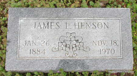 HENSON, JAMES L. - Monroe County, Arkansas | JAMES L. HENSON - Arkansas Gravestone Photos
