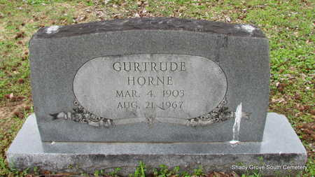 HORNE, GURTRUDE - Monroe County, Arkansas   GURTRUDE HORNE - Arkansas Gravestone Photos