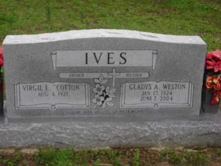 IVES, GLADYS A. - Monroe County, Arkansas | GLADYS A. IVES - Arkansas Gravestone Photos