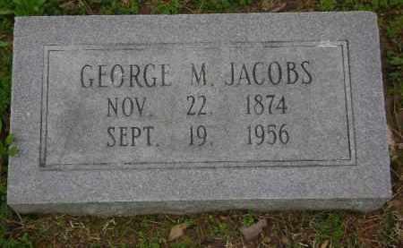 JACOBS, GEORGE M. - Monroe County, Arkansas | GEORGE M. JACOBS - Arkansas Gravestone Photos