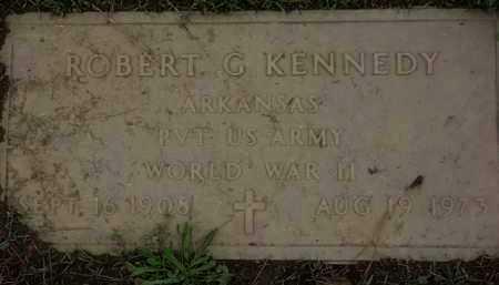 KENNEDY (VETERAN WWII), ROBERT G. - Monroe County, Arkansas   ROBERT G. KENNEDY (VETERAN WWII) - Arkansas Gravestone Photos