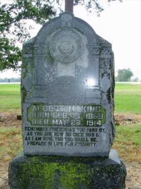 KING, ALBERT M. - Monroe County, Arkansas | ALBERT M. KING - Arkansas Gravestone Photos