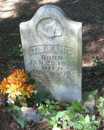 KING, T. J. - Monroe County, Arkansas   T. J. KING - Arkansas Gravestone Photos