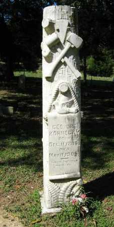 KORNEGAY, GEORGE LEE - Monroe County, Arkansas | GEORGE LEE KORNEGAY - Arkansas Gravestone Photos