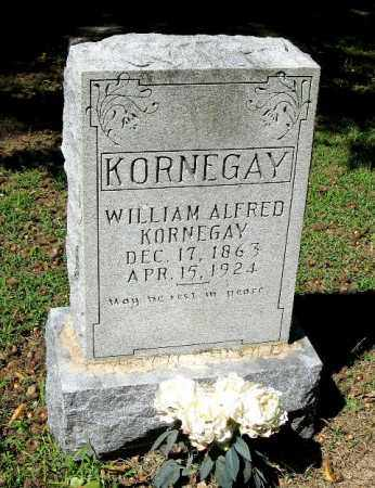 KORNEGAY, WILLIAM ALFRED - Monroe County, Arkansas | WILLIAM ALFRED KORNEGAY - Arkansas Gravestone Photos