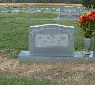 MARTIN, WILLIE - Monroe County, Arkansas | WILLIE MARTIN - Arkansas Gravestone Photos