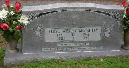 MCCAULEY, FLOYD WESLEY - Monroe County, Arkansas | FLOYD WESLEY MCCAULEY - Arkansas Gravestone Photos