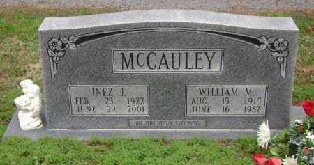 MCCAULEY, INEZ J - Monroe County, Arkansas | INEZ J MCCAULEY - Arkansas Gravestone Photos