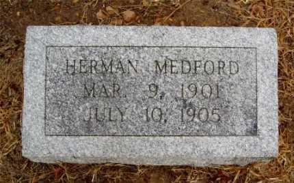 MEDFORD, HERMAN - Monroe County, Arkansas   HERMAN MEDFORD - Arkansas Gravestone Photos