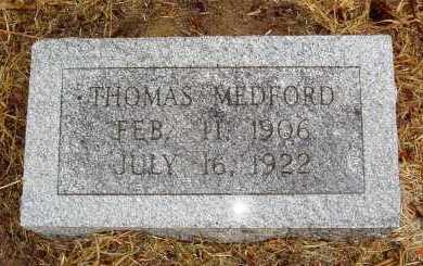 MEDFORD, THOMAS - Monroe County, Arkansas | THOMAS MEDFORD - Arkansas Gravestone Photos