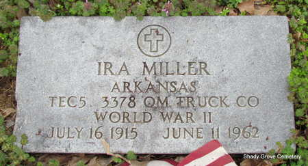 MILLER (VETERAN WWII), IRA - Monroe County, Arkansas | IRA MILLER (VETERAN WWII) - Arkansas Gravestone Photos