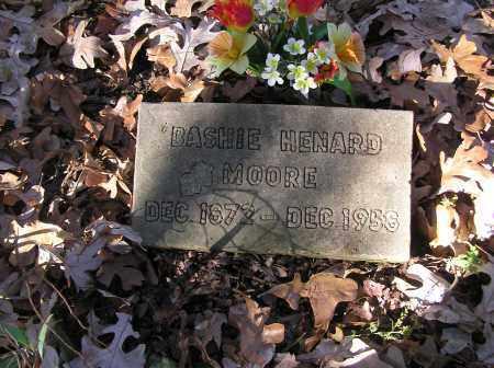 HENARD MOORE, BASHIE - Monroe County, Arkansas | BASHIE HENARD MOORE - Arkansas Gravestone Photos
