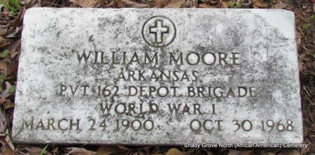 MOORE (VETERAN WWI), WILLIAM - Monroe County, Arkansas | WILLIAM MOORE (VETERAN WWI) - Arkansas Gravestone Photos