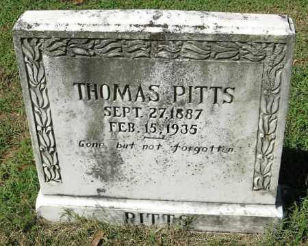 PITTS, THOMAS - Monroe County, Arkansas | THOMAS PITTS - Arkansas Gravestone Photos