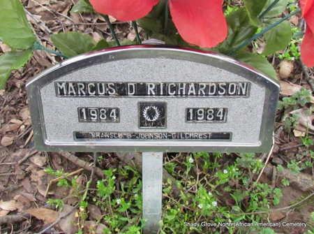 RICHARDSON, MARCUS - Monroe County, Arkansas | MARCUS RICHARDSON - Arkansas Gravestone Photos