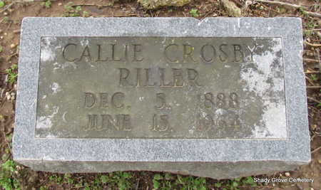 CROSBY RILLER, CALLIE - Monroe County, Arkansas | CALLIE CROSBY RILLER - Arkansas Gravestone Photos