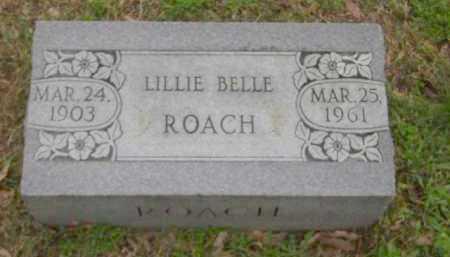 ROACH, LILLIE BELLE - Monroe County, Arkansas | LILLIE BELLE ROACH - Arkansas Gravestone Photos