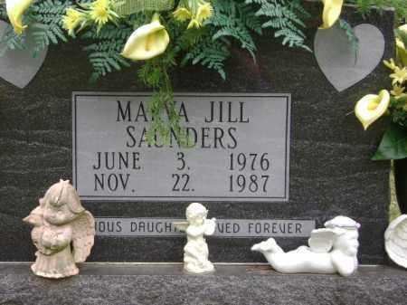SAUNDERS, MARVA JILL - Monroe County, Arkansas | MARVA JILL SAUNDERS - Arkansas Gravestone Photos